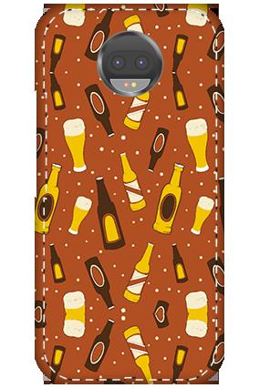 3D - Motorola Moto G5S Plus White High Grade Plastic Beer Bottles  Mobile Cover