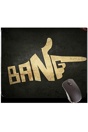 Bang Rectangular Mouse Pad