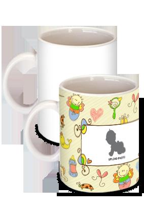 Premium Funny Animal White Ceramic Kids Coffee Mug
