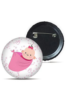 Baby On Board Round Kid's Badges