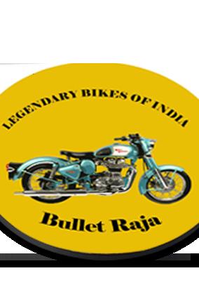 Bullet Raja Round Printed Coaster