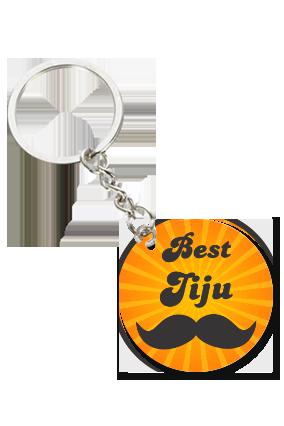 Best Jiju Round Shape Key Chain