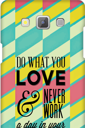 Customized Samsung Galaxy A5 2015 Coloured Life Cover