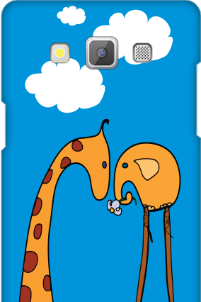 Samsung Galaxy A5 2015 Animated Kids Cover
