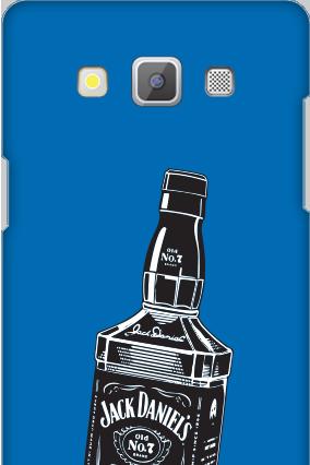 Designer Samsung Galaxy A5 2015 Blue Liqueur Cover