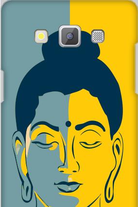 Amazing Samsung Galaxy A5 2015 Silver Buddha Cover