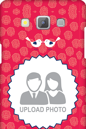 Printed Samsung Galaxy A5 2015 Love Birds Valentine's Day Mobile Cover