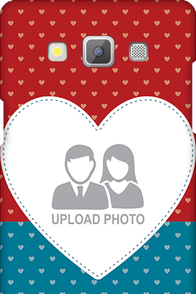 Samsung Galaxy A5 2015 Colorful Heart Valentine's Day Mobile Cover