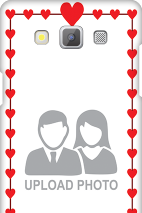 Samsung Galaxy A5 2015 Heart Valentine's Day Mobile Cover
