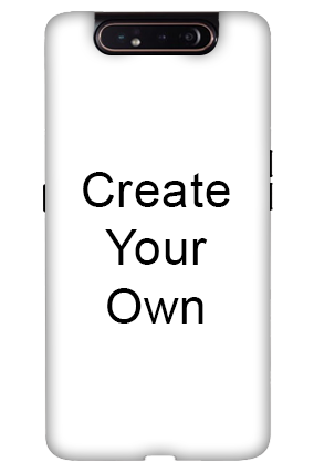 3D-Create Your Own Samsung A80 Mobile Cover