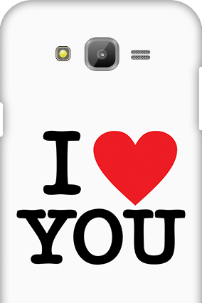 Samsung Galaxy J7 I Love You Valentine's Day Mobile Cover
