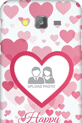 Silicon-Samsung Galaxy J5 True Love Anniversary Mobile Cover
