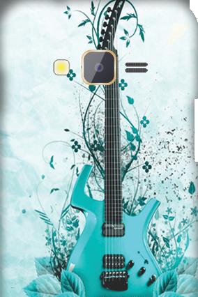 Samsung Z1 Blue Guitar Mobile Cover