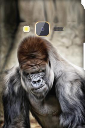 Samsung Z1 Animal Print Mobile Cover