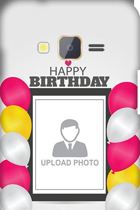 Samsung Z1 Birthday Greetings Mobile Cover
