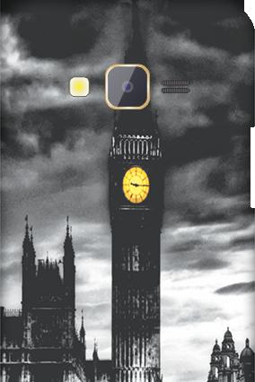 Samsung Z1 Clock Mobile Cover