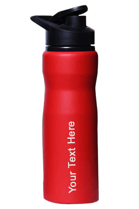 Sippon-104 Sports Bottle Red