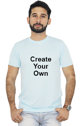Create Your Own Sky Blue T-Shirt