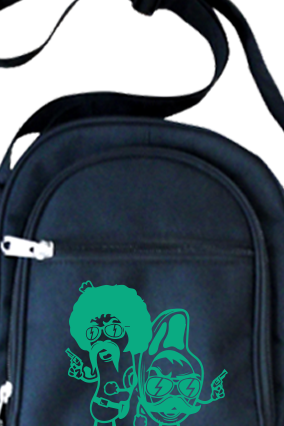 Funky Personalized Sling Bag