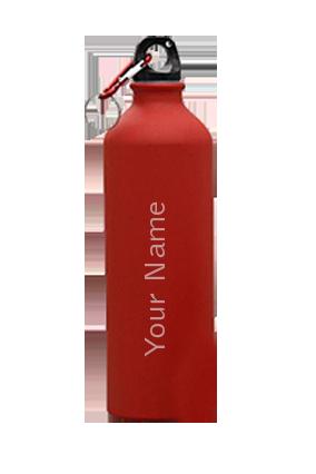 Sports Bottle Matt GM-160 Red