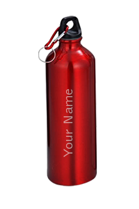 Sports Bottle With Carabiner GM-007 Red