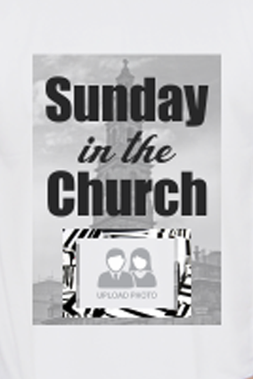 Amazing Sunday in the Church Dri-Fit White T-shirt