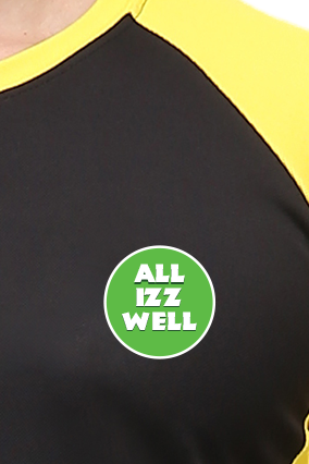 Effit All Is Well Black And Yellow T-Shirt