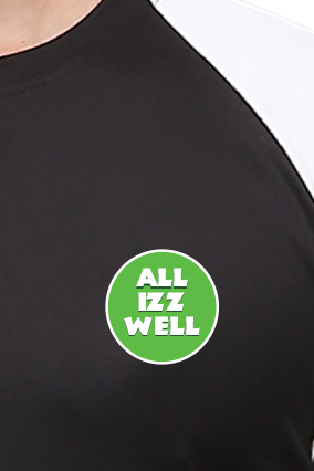 Effit All Is Well Black And White T-Shirt