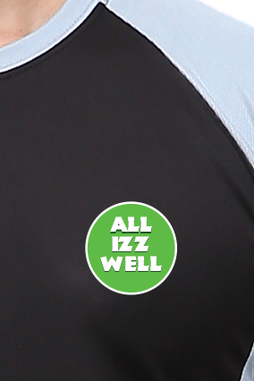 Effit All Is Well Black And Grey T-Shirt