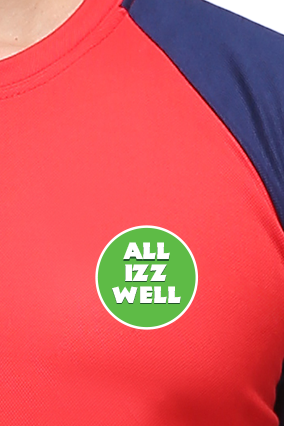 Effit All Is Well Red and Navy T-Shirt