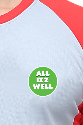 Effit All Is Well Grey Red T-Shirt