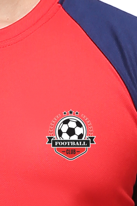 Effit Champion Red and Navy T-Shirt