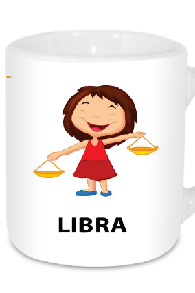 Awesome Libra Tea Mug