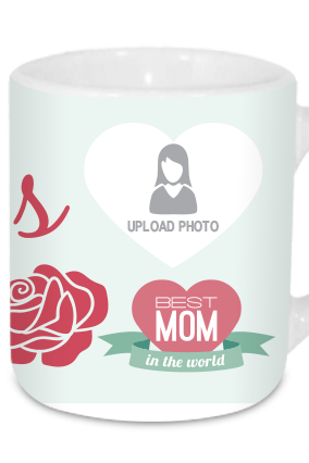 Love You Mom Tea Mug
