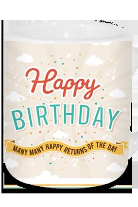 Birthday Wishes Tea Mug