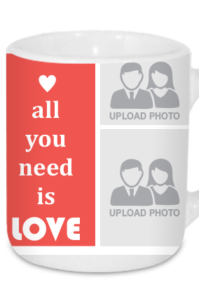 All You Need Is Love Valentine's Day Tea Mug