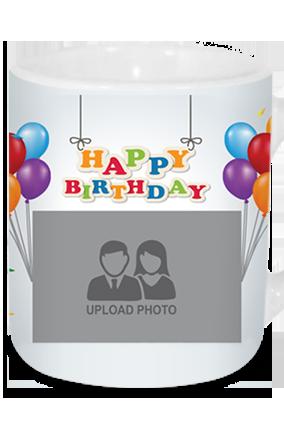 Happy Birthday Tea Mug