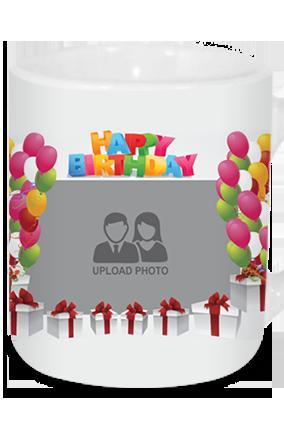 Birthday Decoration Tea Mug