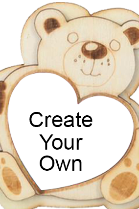 Create Your Own Personalized Teddy Fridge Magnet