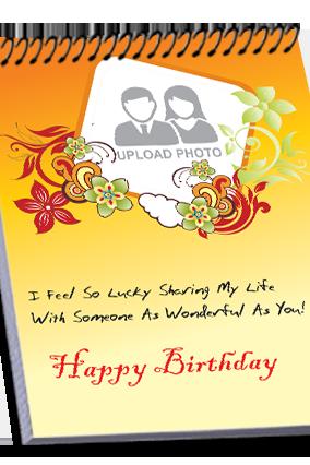 Happy Birthday Top Spiral Notebook