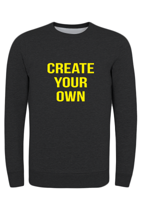 Custom Promotional Create Your Own Black Umbro Sweatshirt