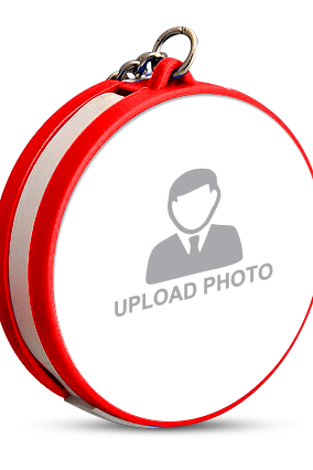 Upload Photo Keychain with Data Cable
