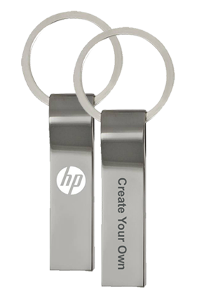 Create Your Own HP Metal Pen Drives-V285W