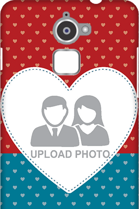 Customized Coolpad Note 3 Lite Colorful Heart Valentine's Day Mobile Cover