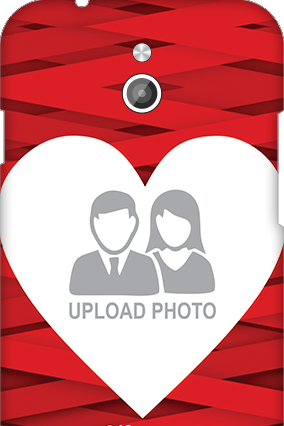 Silicon - InFocus M2 Big Heart Valentine's Day Mobile Cover