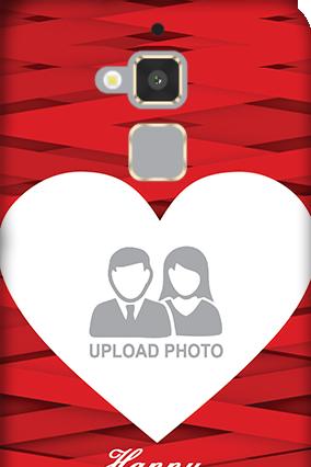 Asus Zenfone 3 Max Big Heart Valentine's Day Mobile Cover