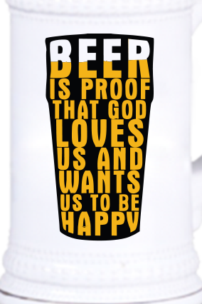 Beer Proof Vintage Beer Mug