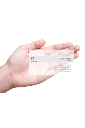 Transparent Business Cards Online In India With Custom Printing Printland