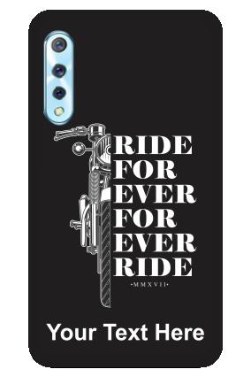 Vivo S1 - Ride Forever Designer - Mobile Phone Cover