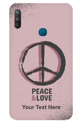 Vivo U10 - Peace & Love Designer - Mobile Phone Cover